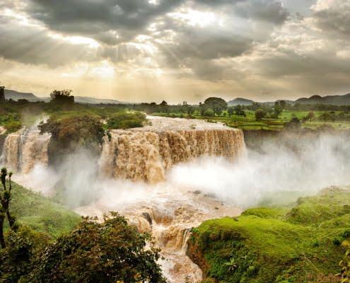 Blue Nile Falls, Ethiopia, Africa bahir dar