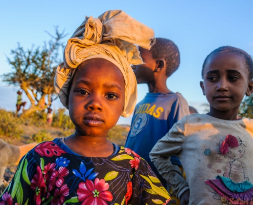 Datoga Children, Lake Eyasi