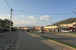 Gisenyi city in the Western Rwanda