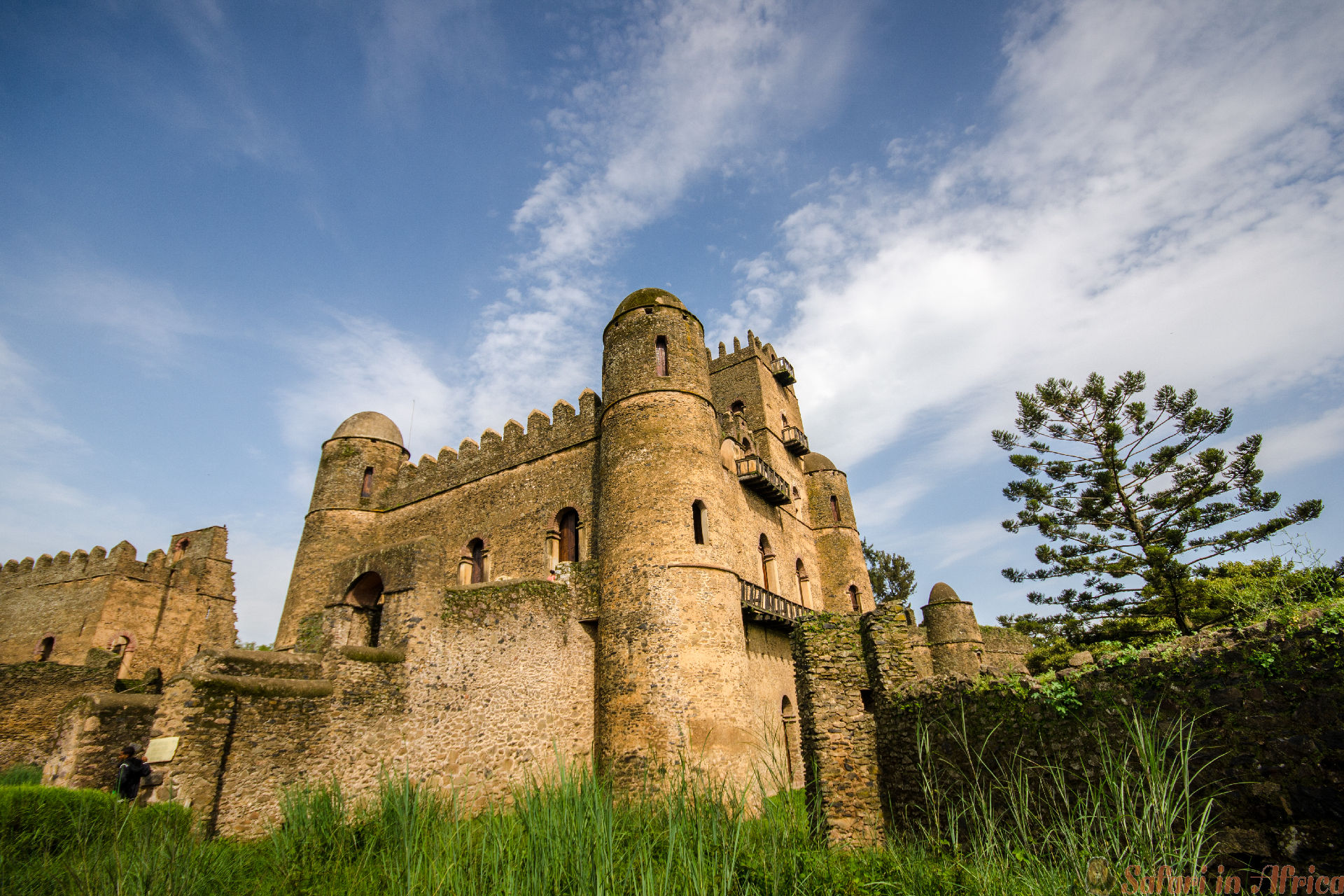 Gondar, Ethiopia, the castle of Ghebbi, Ethiopia