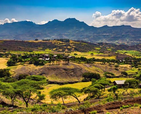 Lalibela countryside, Ethiopia