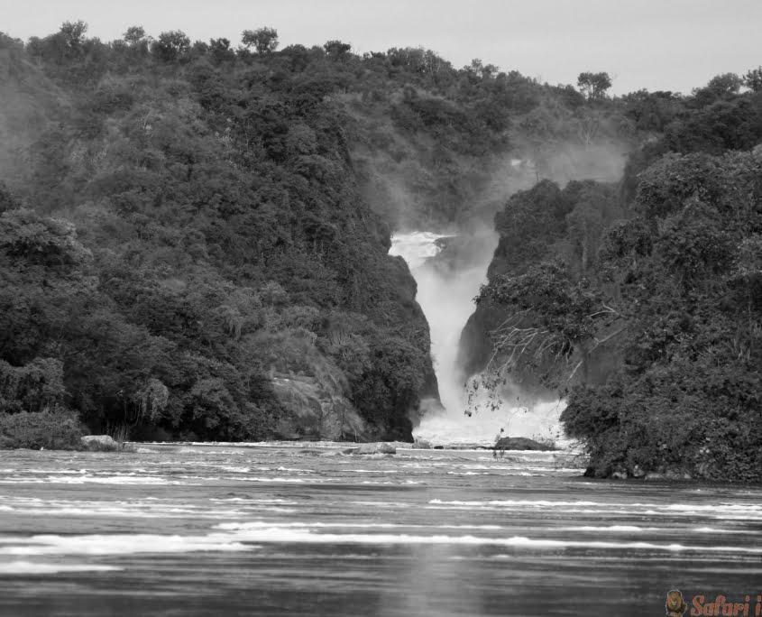 Murchison Falls, Oeganda B&W