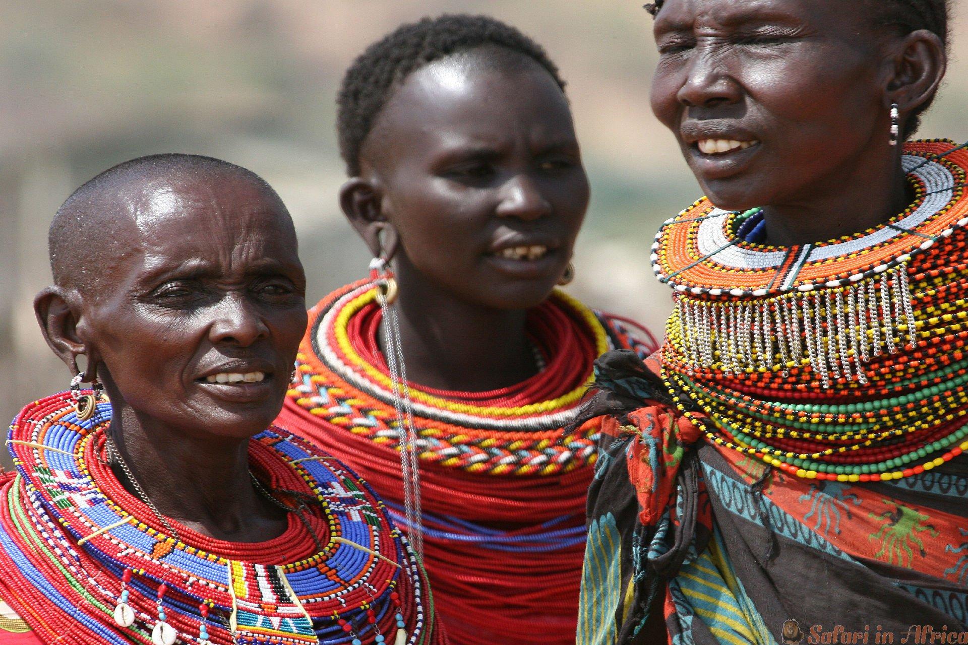 Samburu Women, Kenya
