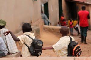 School kids at Kigali, Rwanda