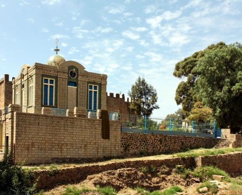 The Chapel of the Tablet, St. Mary Of Zion Churches in Aksum, Ethiopia