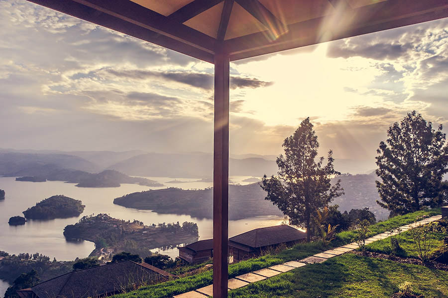 Arcadia Lodge @Lake Bunyonyi – Oeganda