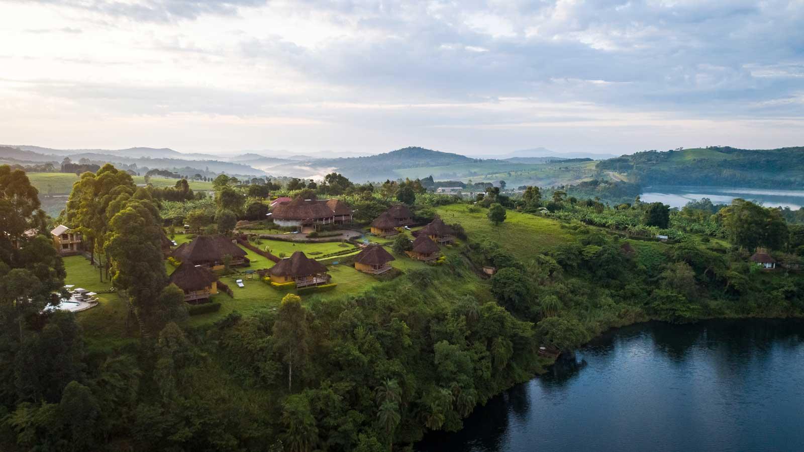 Crater Safari Lodge @Oeganda
