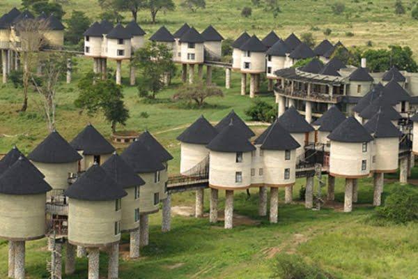 Sarova Saltlick Lodge @Tsavo west – Kenia