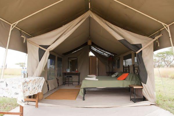 Kati kati Tented Camp @Serengeti – Tanzania