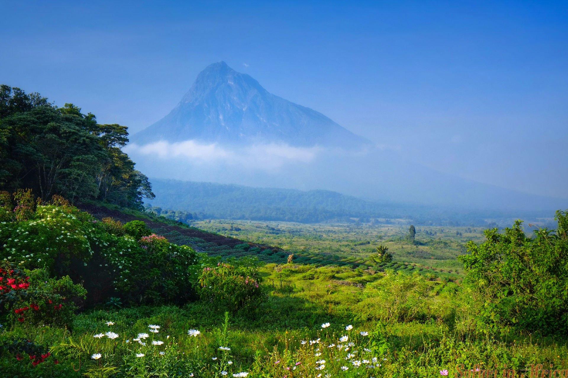 scenery Virunga NP